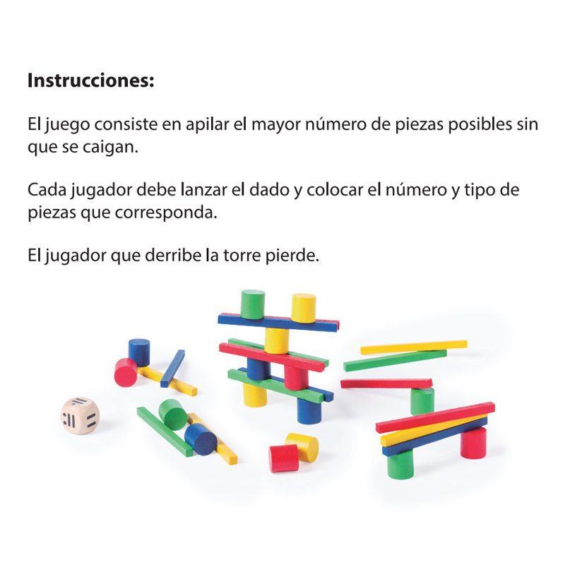 Juego de Habilidad de madera de 33 piezas juego de habilidad de madera de 33 piezas detalles infantiles