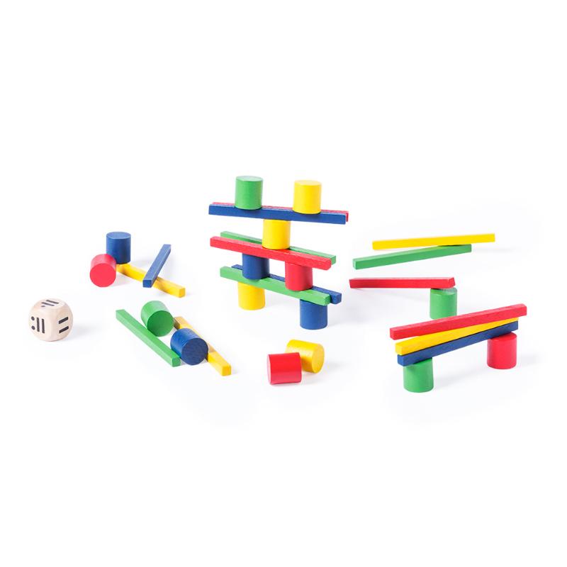 Juego de Habilidad de madera de 33 piezas juego de habilidad de madera de 33 piezas detalles infantiles3