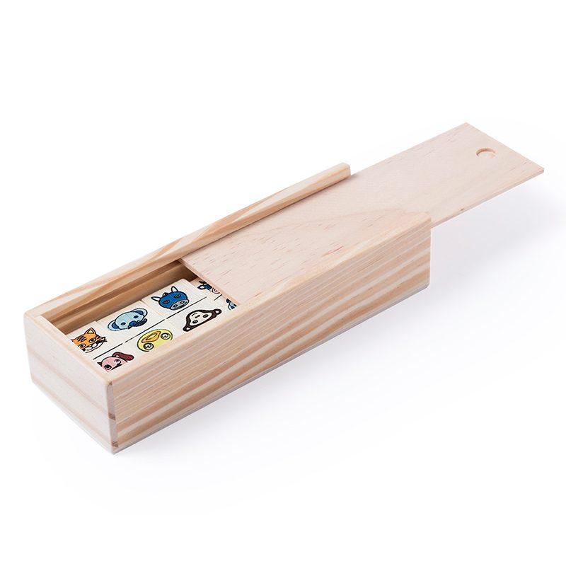Juego Dominó de animales, 28 piezas juego domino de animales 28 piezas regalos infantiles para comunion