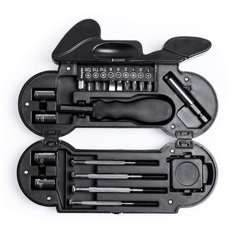 Kit de Herramientas modelo Motocicleta, 21 accesorios kit de herramientas modelo motocicleta 14 accesorios detalles para hombres2