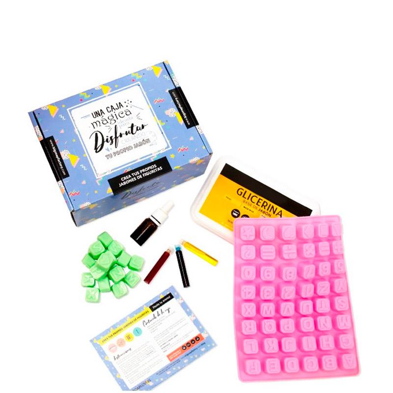 Kits para hacer jabón de glicerína