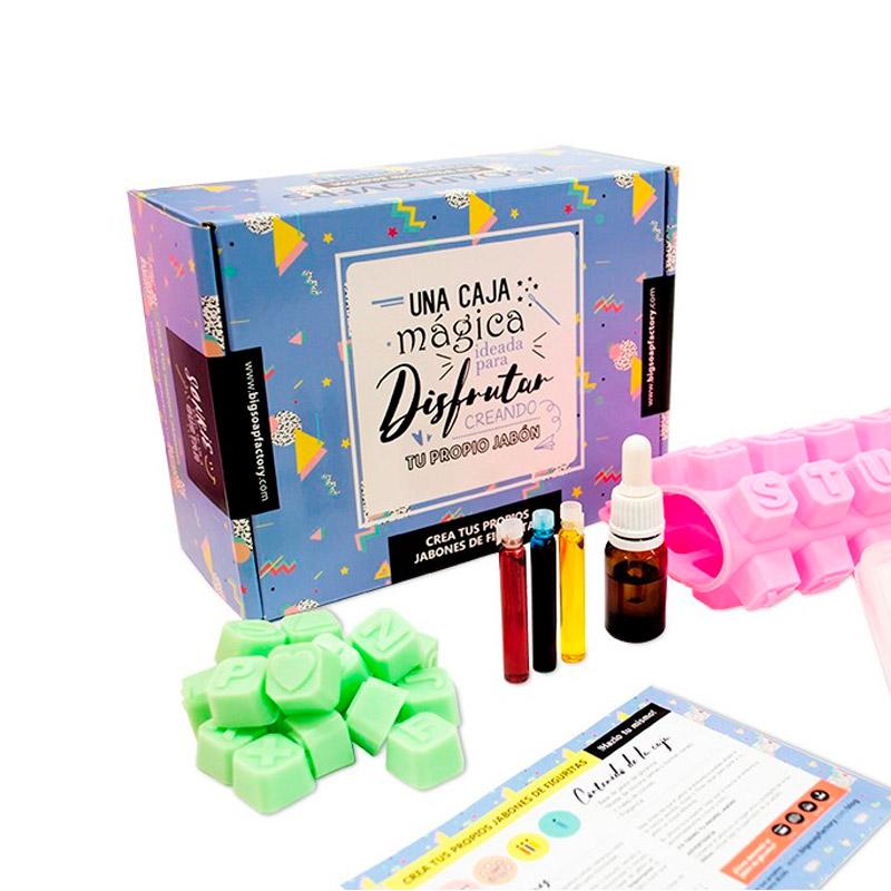 Kit para hacer letras de jabón