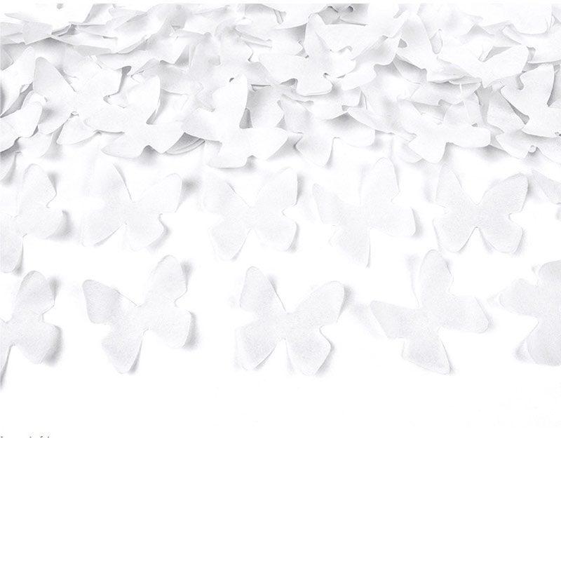 Lanzador de mariposas. Blancas. 60cm
