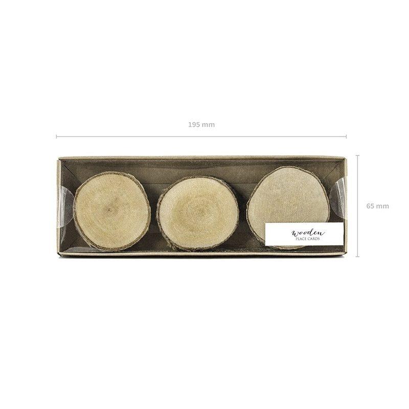 Pack 6 lascas de madera para personalizar