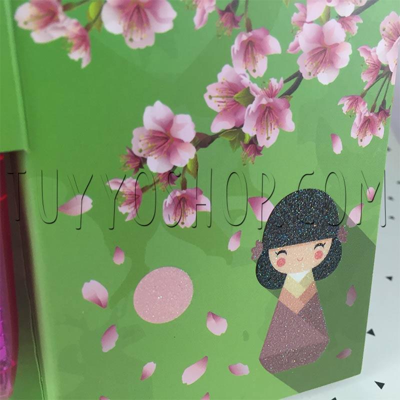 libreta para invitadas de boda modelo sakura