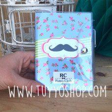 libreta moustache