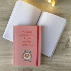 Libreta para boda soft mensajes