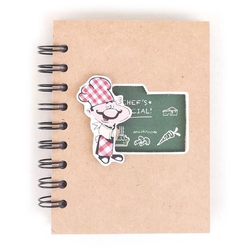 libreta recetas cocinillas