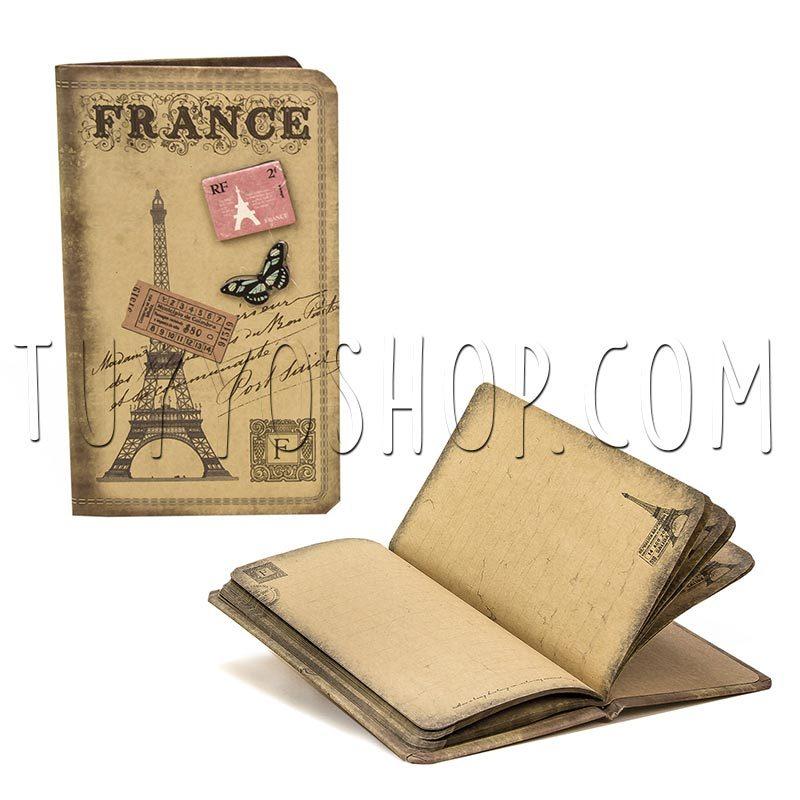 libreta vintage francia