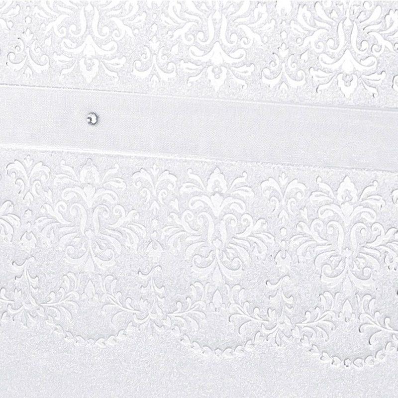 Libro de firmas para boda. Blanco vintage.