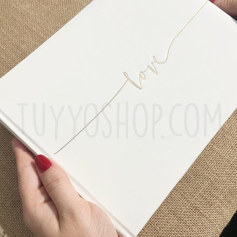 Libro de firmas Love