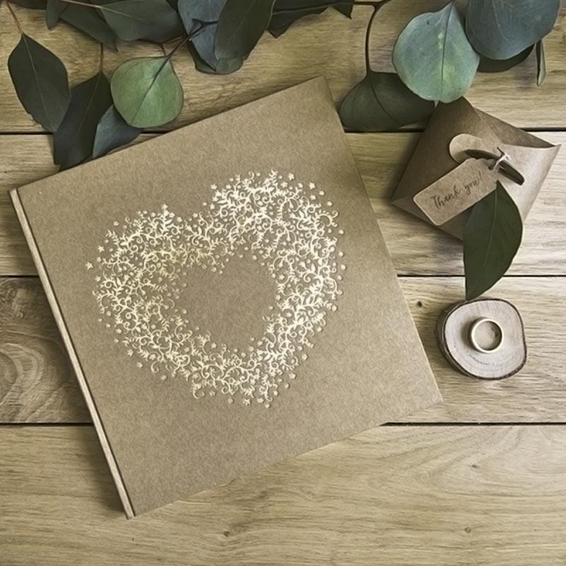 Libro de firmas y álbumes de boda