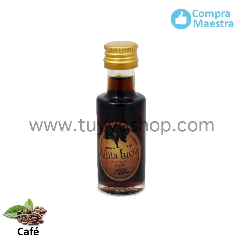 Licor de orujo en formato mini y con sabor a café