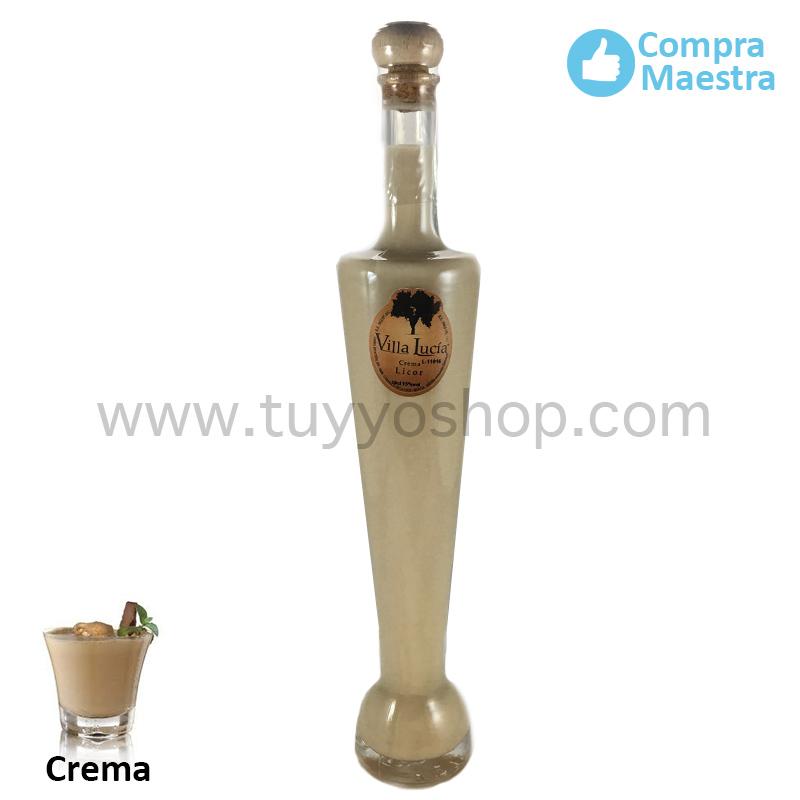 licor de orujo modelo Badajoz, sabor crema