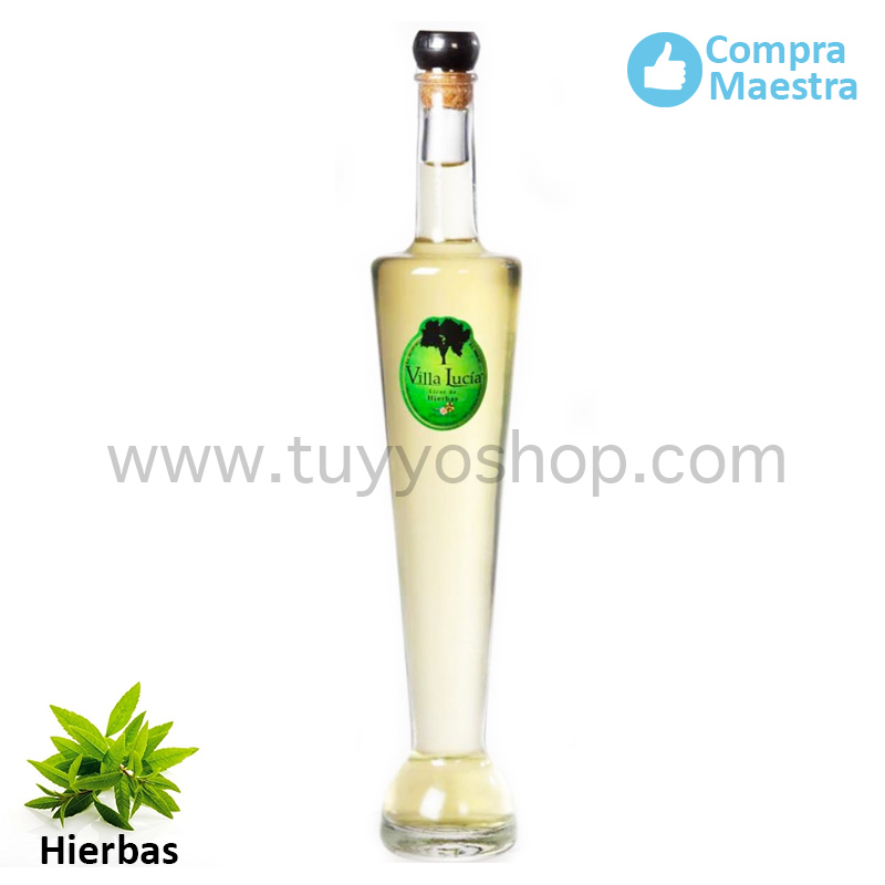 licor de orujo modelo Badajoz, sabor hierbas
