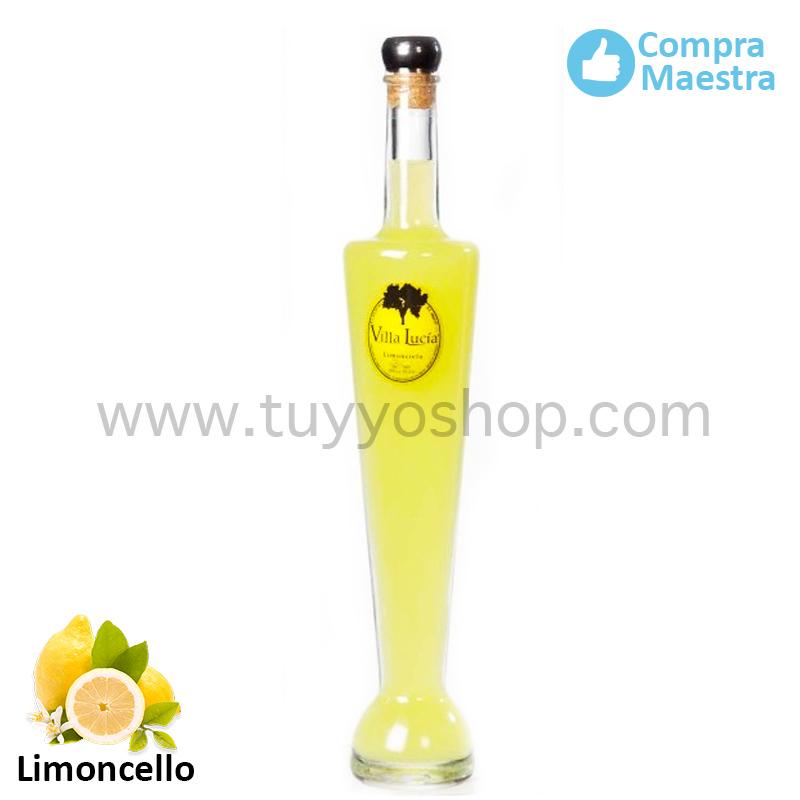 licor de orujo modelo Badajoz, sabor limoncello