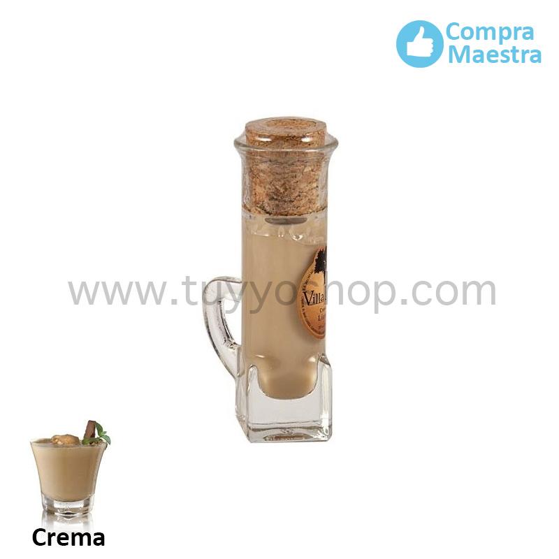 licor de orujo modelo chupito en sabor crema