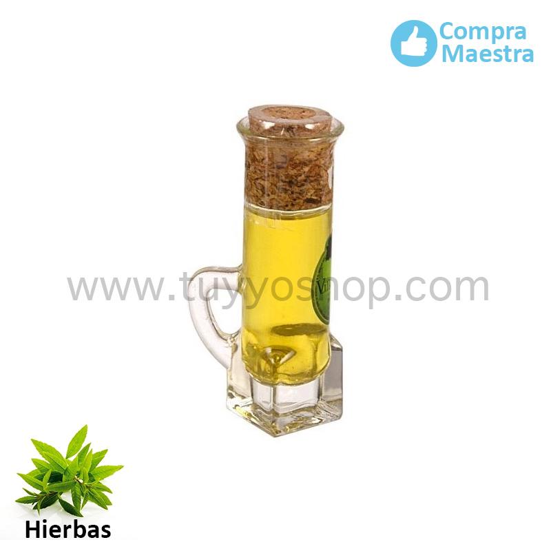 licor orujo modelo chupito sabor hierbas