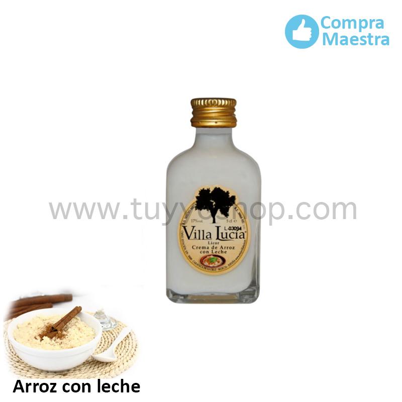 licor de orujo modelo mini sabor arroz con leche