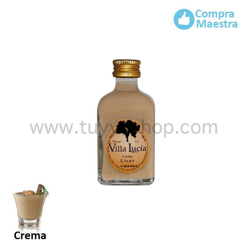 licor de orujo modelo mini sabor crema