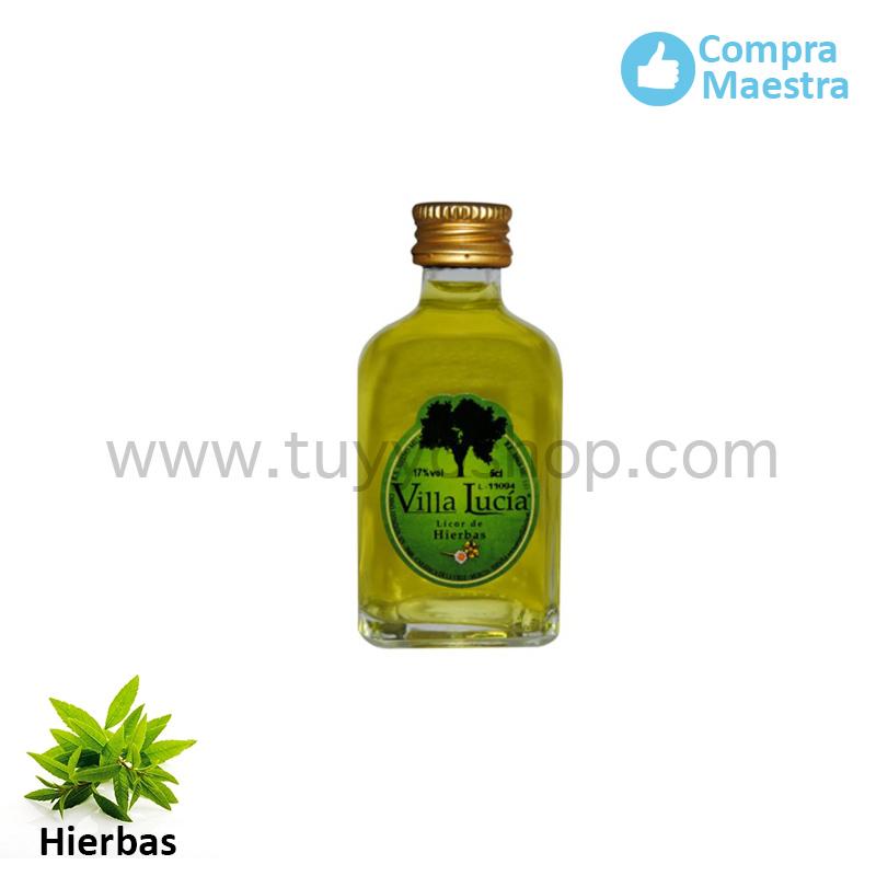 licor de orujo modelo mini sabor hierbas