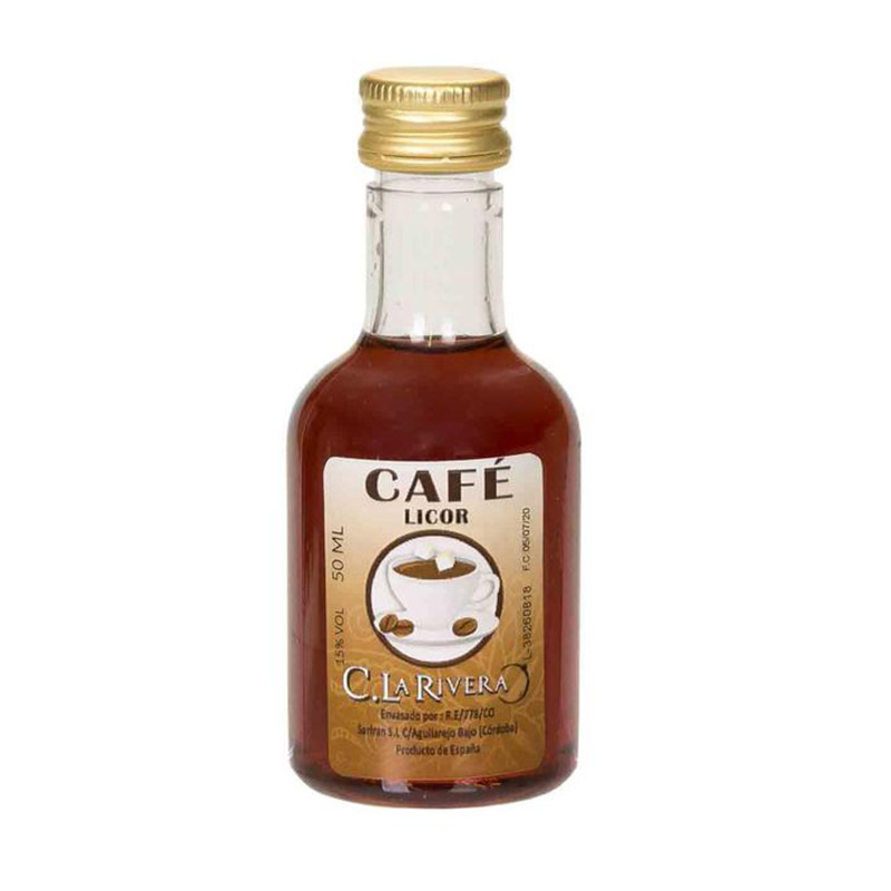 Licor de café. La Rivera. 50ml.