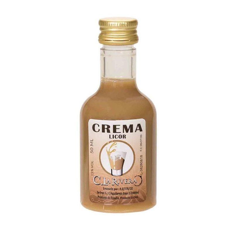 Licor de crema. La Rivera. 50ml.