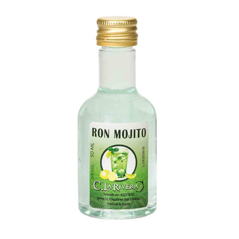 Licor sabor Mojito. La Rivera. 50ml.