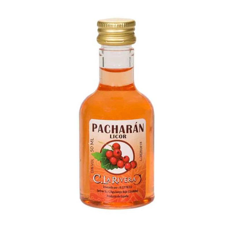 Licor Pacharán. La Rivera. 50ml.