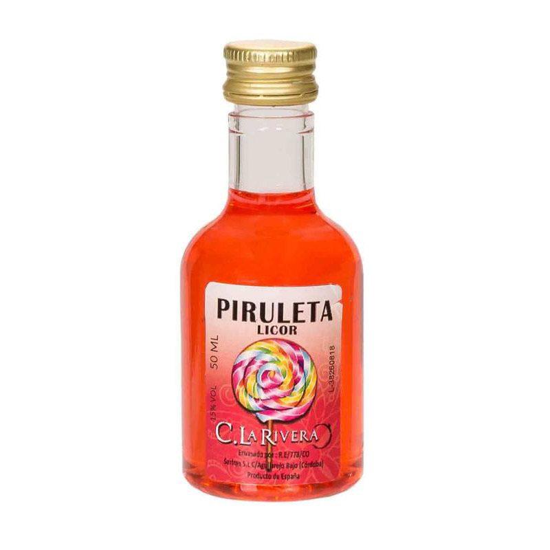Licor sabor Piruleta. La Rivera. 50ml.