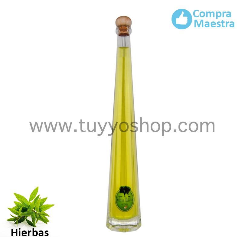 Orujo Villa Lucía modelo Lobón, sabor Hierbas