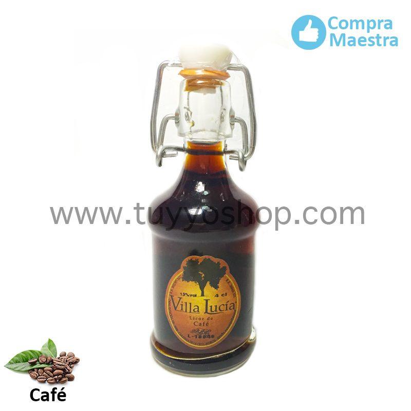 Licor de orujo para boda modelo sifón en sabor café