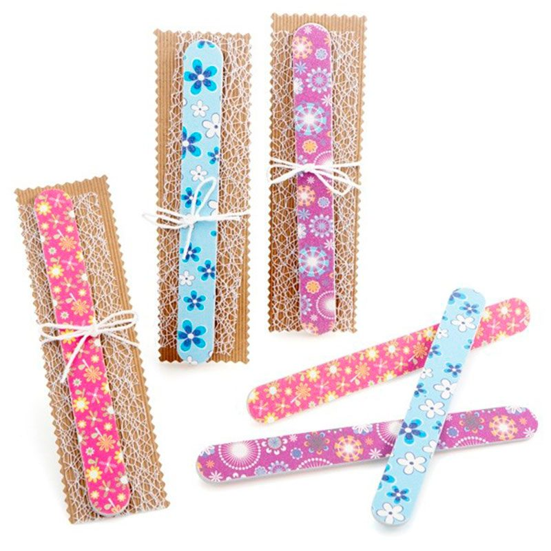 Lima de uñas modelo Flower, presentada para regalo