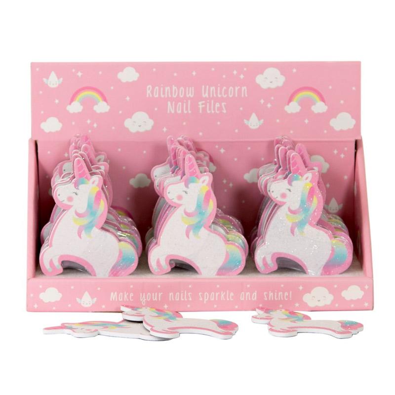 Lima de uñas modelo Unicornio