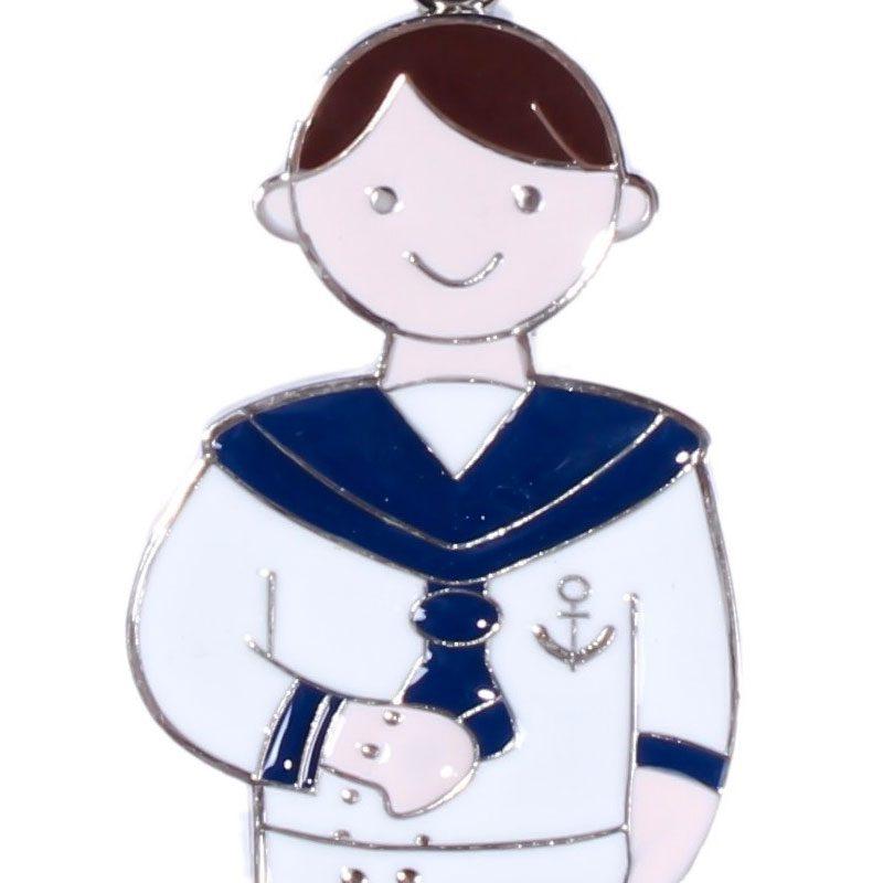llavero de comunión diseño marinero