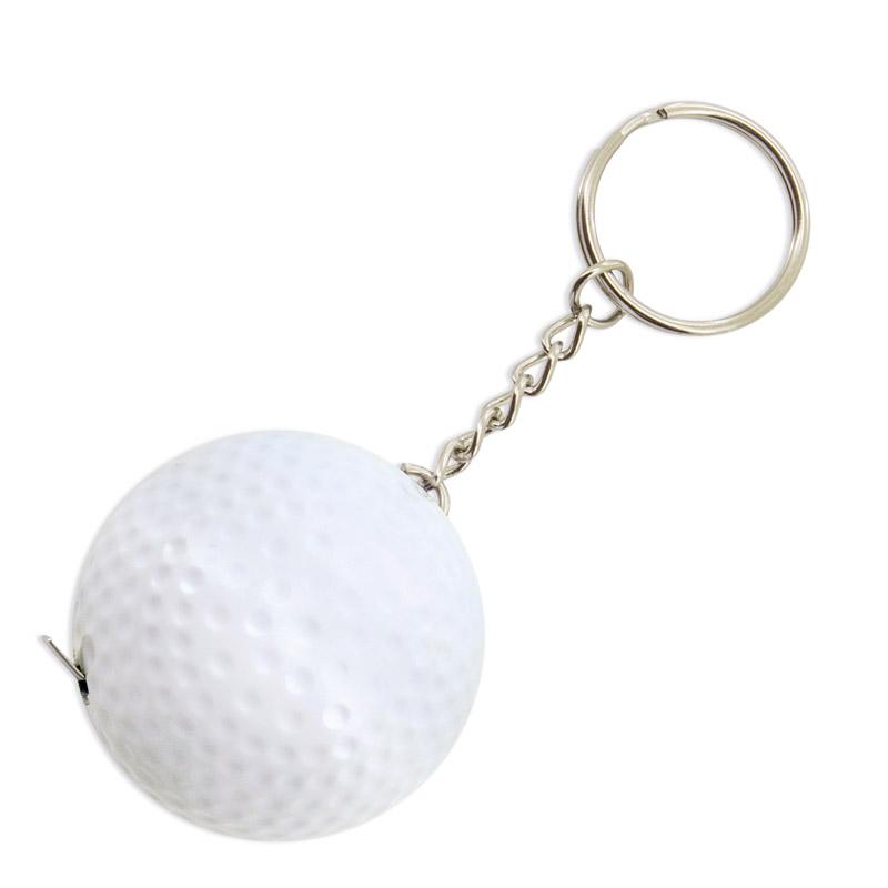 Llavero pelota de golf con función metro. 1 metro.