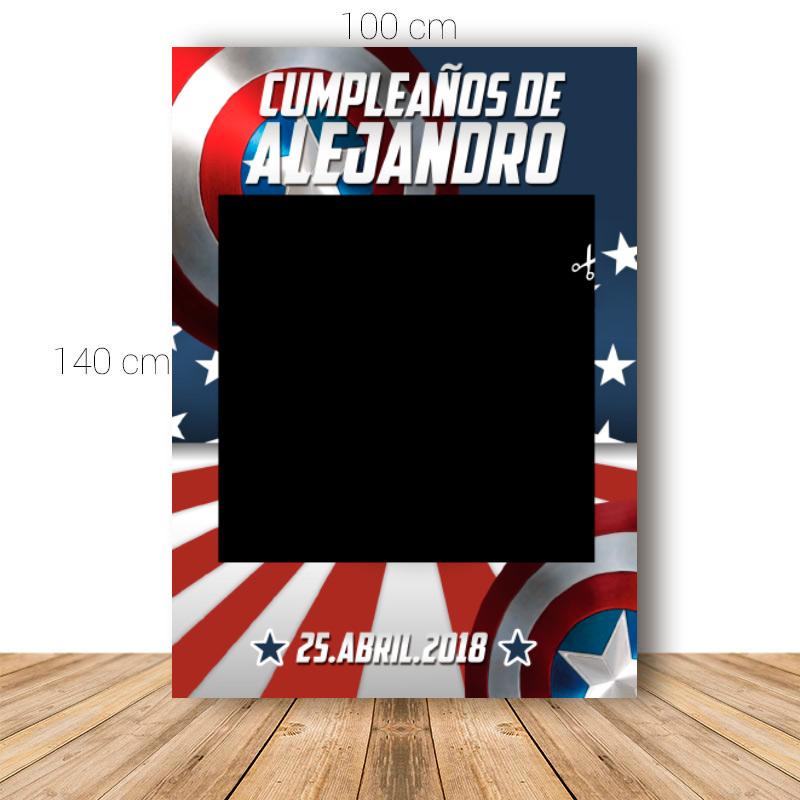 Marco para cumpleaños. 100x140cm. Modelo America