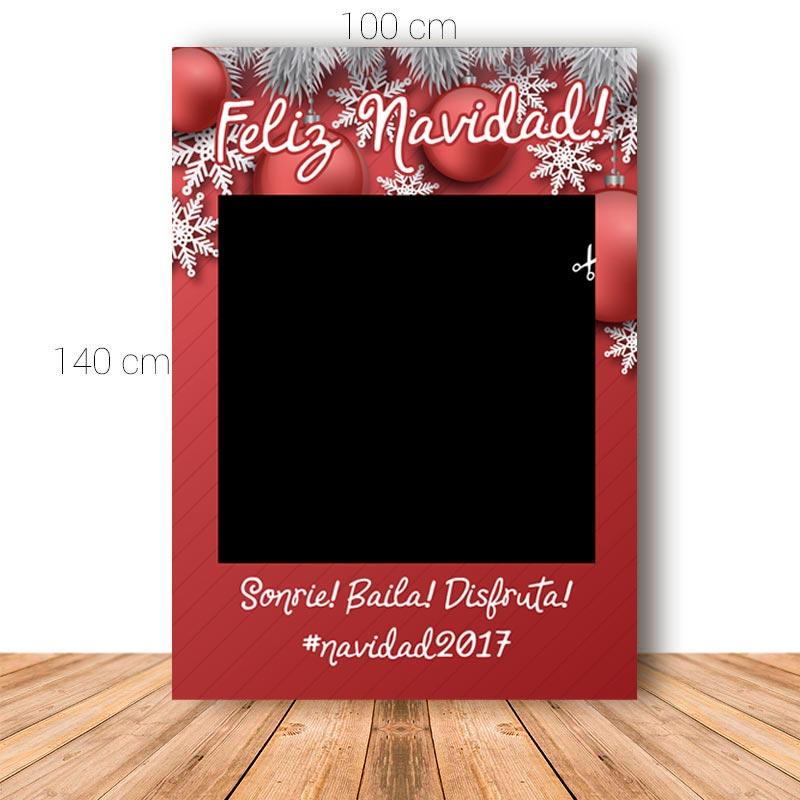 Marco para Navidad. 100x140cm. Personalizable