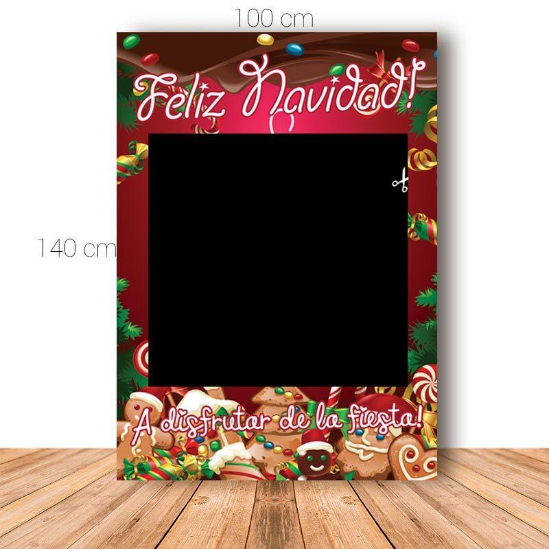 Marco para Navidad. Cookie. 100x140cm. Personalizable