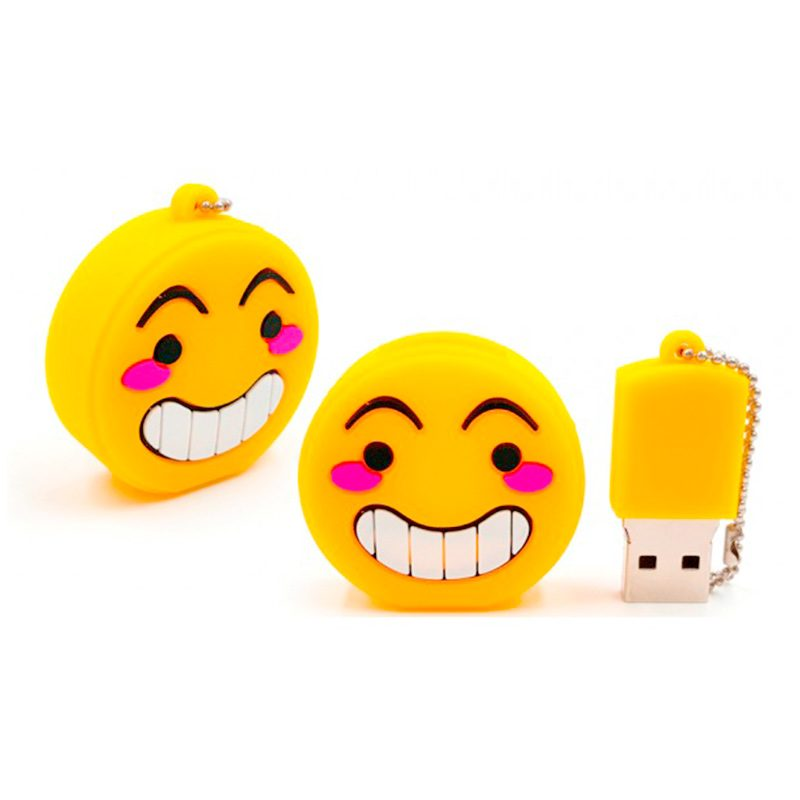 Memoria usb emoticonos. 4Gb