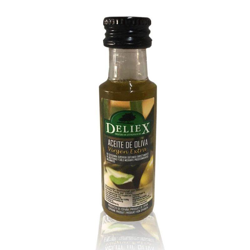Mini botella de aceite para boda. 25ml. Virgen extra.