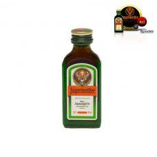 Mini botella para boda Jagermeister