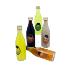 mini botella licor elegante