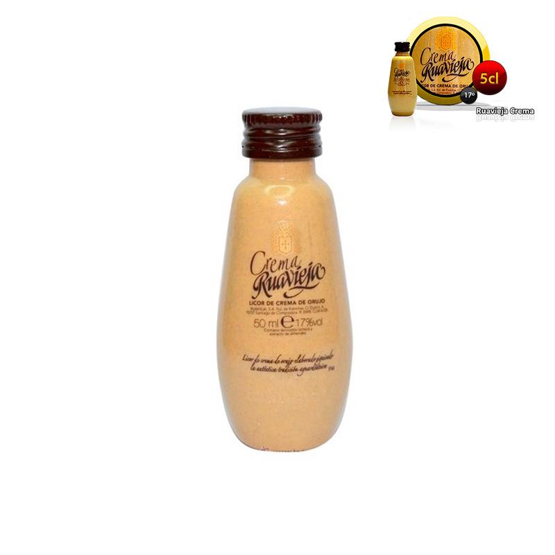 Mini botella ruavieja crema