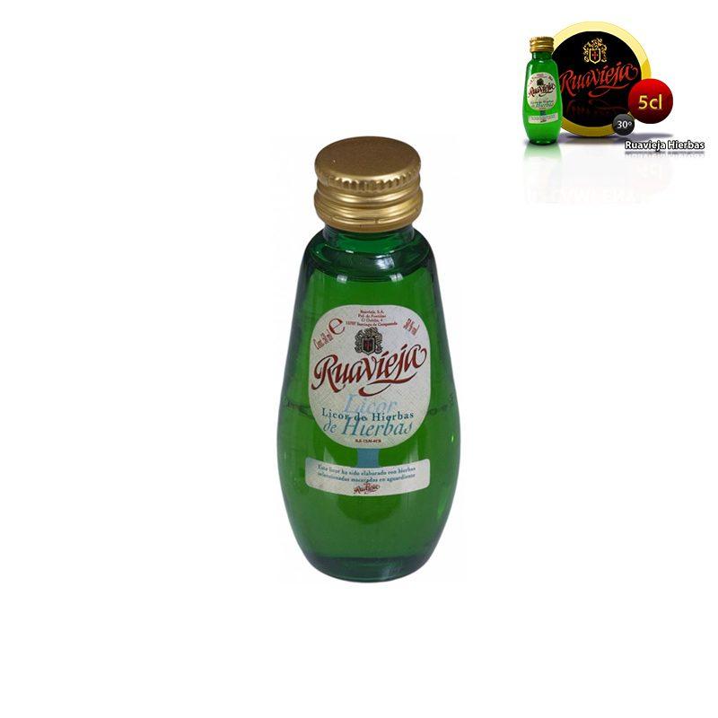 Mini botella ruavieja hierbas