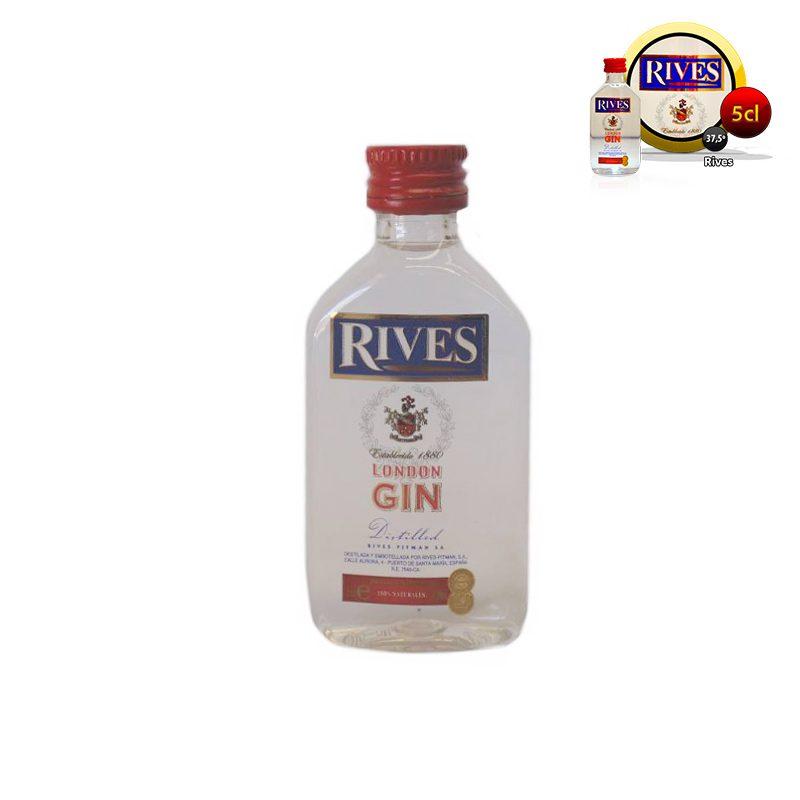 Mini ginebra para bodas Rives