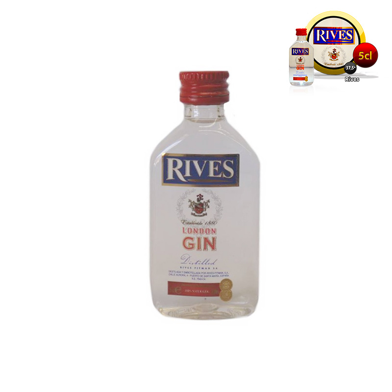 Mini ginebra para bodas Rives