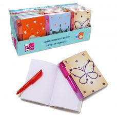 Mini libreta con bolígrafo 100 hojas