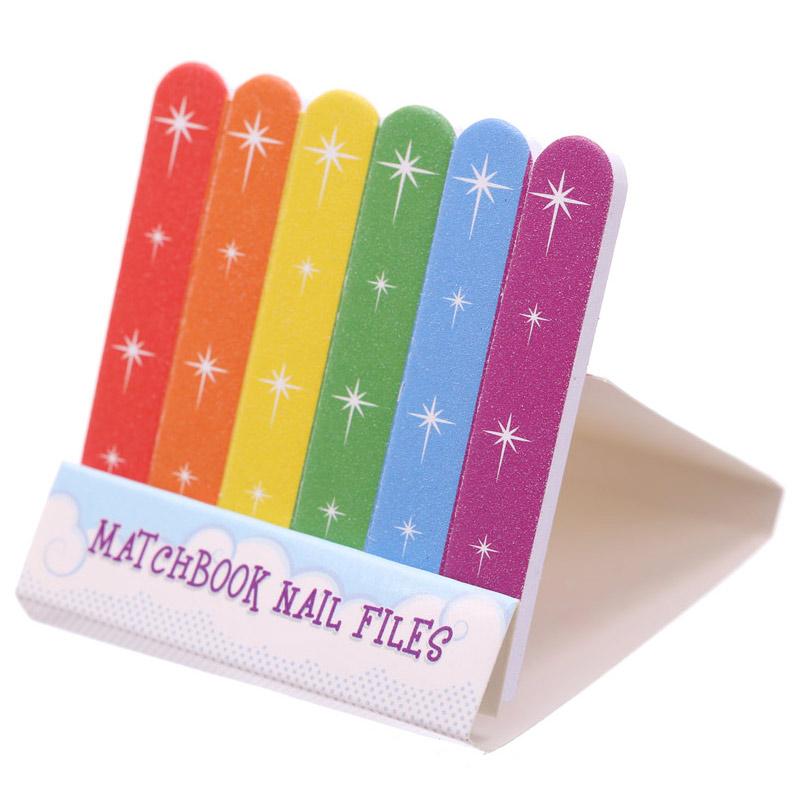 Mini limas de uñas en caja de cerillas Unicornio