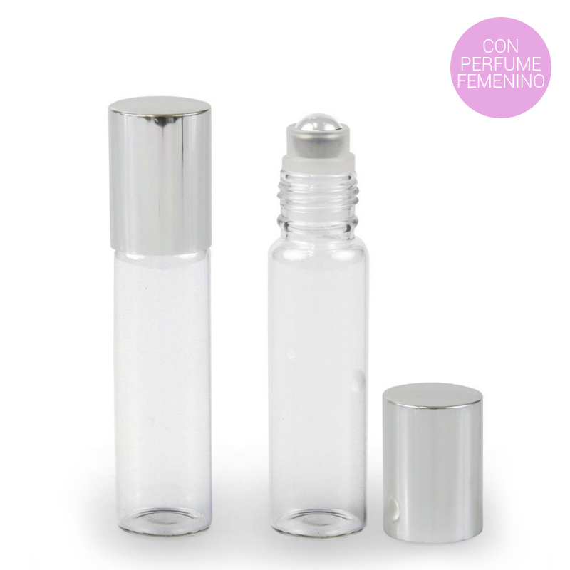 Miniatura de perfumes para boda, con fragancias femeninas